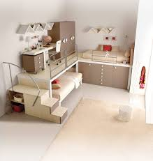 Very Nice Bunk Beds Furniture With Soft Beige Color Canopy Beds - Nice bunk beds