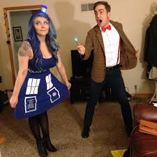 couples costumes ideas tardis and dr who rethmanen costume ideas for