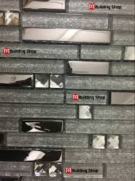 metal diamond glass tiles for kitchen backsplash silver stainless