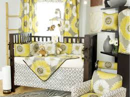 Gray And Yellow Crib Bedding Bedding Set Awe Inspiring Grey Yellow White Bedding Unusual Grey