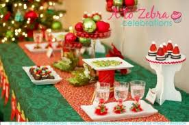 Christmas Table Decoration Printables by Diy Christmas Party Table Decorations Designcorner