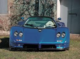 blue pagani zonda 2002 pagani zonda c12 s pagani supercars net