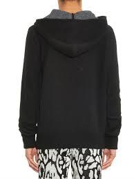baja east shark hooded cashmere sweater in black for men lyst