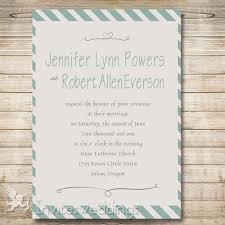 Mint Wedding Invitations Simple Mint Green Stripes Wedding Invitations Iwi296 Wedding