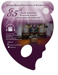 church fans 85th church anniversary fan on behance