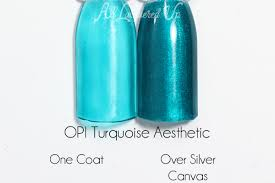 opi turquoise aesthetic color paint blendable free shipping at