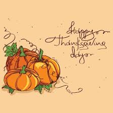 free vector pumpkin clip on happy thanksgiving day card 28