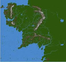 a map of middle earth wip middle earth map minecraft project