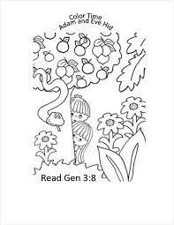 primary pathways adam and eve coloring pages and puzzle pages