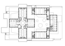 rehabilitation center floor plan civic center by exit architects