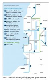 light rail map seattle seattle we re way on transit but there s