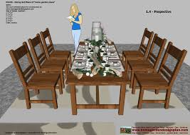 Free Woodworking Plans For Outdoor Table home garden plans ds100 dining table set plans woodworking