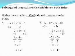 Multi Equations With Variables On Both Sides Worksheet Multi Equations Worksheet Variables On Both Sides No Negative
