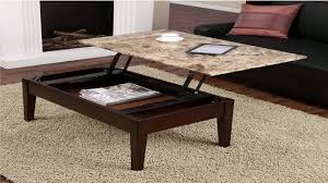 dorel living faux marble lift coffee table youtube