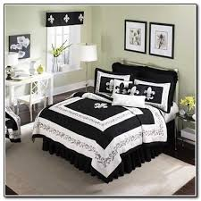 Fleur De Lis Comforter Fleur De Lis Bedding Sets Black And White Beds Home Design