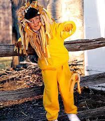 lion halloween costume how to make a child u0027s lion halloween costume
