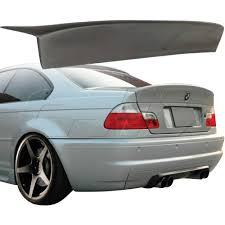 Bmw M3 Truck - m3 e46 2dr csl look rear spoiler wing trunk lid spoile for bmw 3