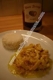 cuisiner les blancs de seiche blancs de seiche flambés au rhum aux épices et safran plats