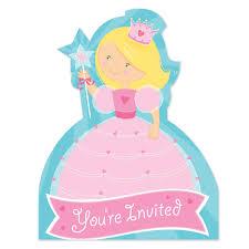 fairytale princess invitation cards princess invitations party ark
