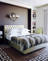 faux fur bedroom throws design ideas