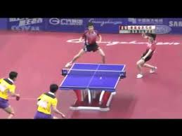 table tennis doubles rules great table tennis doubles match youtube