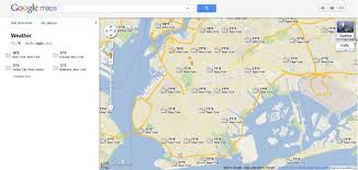New York Google Map by Google Adds Weather Layer To Maps Digital Trends