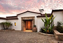Mediterranean Roof Tile Brick Patio Ideas Exterior Mediterranean With Clay Tile Roof