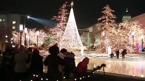 temple square lights 2017 schedule novosibirsk jan 01 the park of kirov lights on the christmas