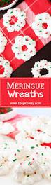 meringue wreaths the pkp way