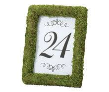 wedding table numbers wedding table numbers and place cards holders