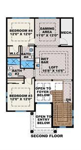mediterranean floor plan 4 bedrms 4 5 baths 3616 sq ft 175