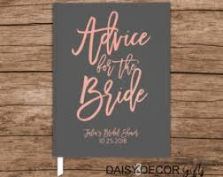 wedding wishes and advice wedding advice book etsy