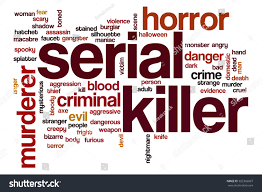 undead word cloud concept with horror scary related tags stock