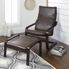 Walmart Chair And Ottoman Better Homes And Gardens Sloane Bentwood Chair U0026 Ottoman Set