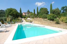 umbria villa for sale with panoramic view and pool in citerna