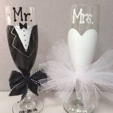 wedding gift glasses to be wine glass bridal shower from makeitfierce on etsy