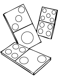 coloring pages amusing coloring pages games dominoes ink