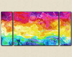abstract large wall art stretched canvas print 30x60 to 40x78