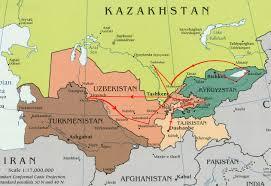 Kyrgyzstan Map Tajikistan U2013 Uzbekistan U2013 Kazakhstan U2013 Kyrgyzstan Simurg Travel