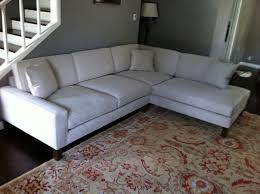 microfiber sectional couch in family room los angeles with