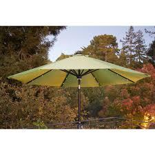 9 foot umbrella with solar light cilantro umbrellas patio