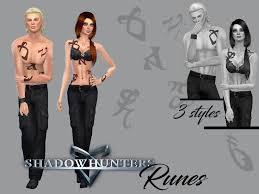 juliebfmv u0027s shadowhunters runes tattoo