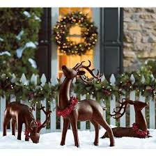 Outdoor Reindeer Decorations Best 25 Outdoor Reindeer Decorations Ideas On Pinterest