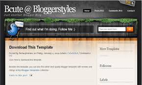 themes magasin seis web 2 style professional blogger template
