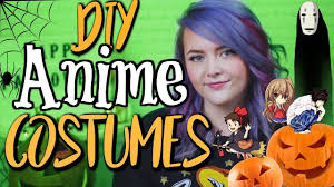 easy diy anime costume ideas for halloween and cosplay youtube