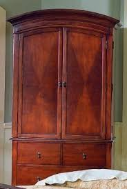 Cherry Armoire Wardrobe Cherry Tv Armoire Foter