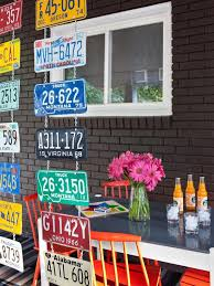 License Plate Room Divider Hgtv