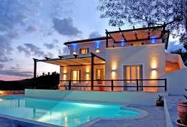 chambre avec piscine alonissos villa de luxe 4 chambres avec piscine privée thessalie