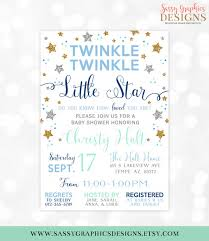 twinkle twinkle baby shower invitations twinkle twinkle baby shower invitation baby boy