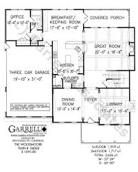 house plans country style woodmoore house plan house plans by garrell associates inc